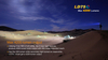 Fenix LD75C Multi-Color LED Flashlight Outside