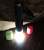 "LED Silicone Diffuser for 3/4"" Flashlight Heads"