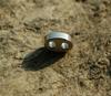 Titanium Lanyard Bead - Oval
