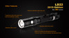 Fenix LD22 G2 LED Flashlight Outdoor Features