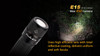 Fenix E15 LED Flashlight Outside