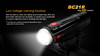 BC21R LED Bike Light Low battery warning