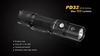 Fenix PD32 LED Flashlight Highlights