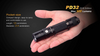 Fenix PD32 LED Flashlight Size