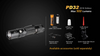 Fenix PD32 LED Flashlight Accessories