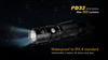 Fenix PD32 LED Flashlight Water