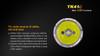 Fenix TK41C LED Flashlight Cree Information