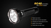 Fenix RC40 Rechargeable LED Flashlight Highlights