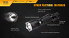 Fenix TK15 Ultimate Edt. LED Flashlight Features