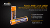 Fenix TK16 LED Flashlight TACTICAL Bundle