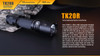 Fenix TK20R Rechargeable Tactical Flashlight Description