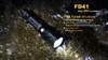 Fenix FD41 LED Flashlight Water