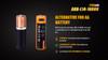 Fenix ARB-L14-1600U USB Rechargeable Li-ion 14500 Battery