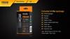 Fenix FD30 LED Flashlight Box