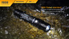 Fenix FD30 LED Flashlight Water