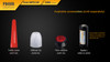Fenix PD40R LED Flashlight Accessories