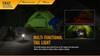 Fenix TK47 Dual-Purpose LED Flashlight Tent