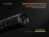 Fenix TK65R Rechargeable LED Flashlight Charging indicator