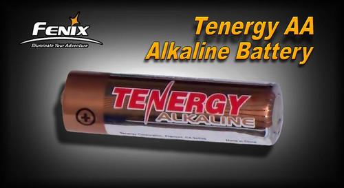 AA Tenergy Alkaline Battery