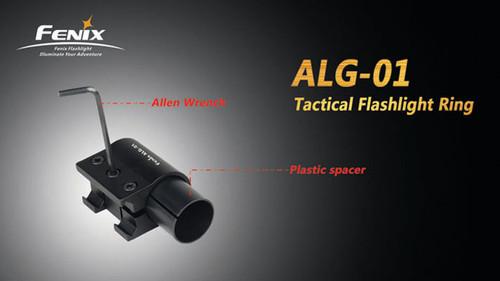 Fenix ALG01 Flashlight Tactical Ring Mount