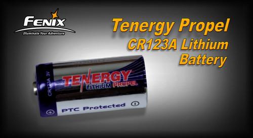 CR123A Tenergy Propel 3v w/PTC Lithium Battery