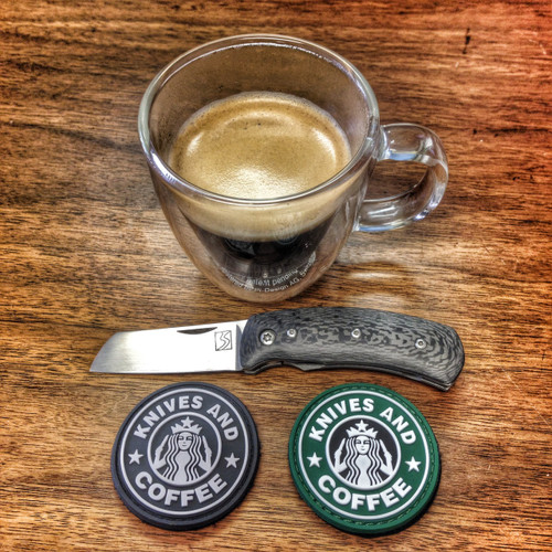 Knives and Coffee PVC Morale Patch
