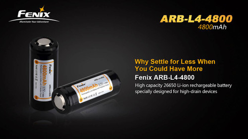 Fenix ARB-L4-4800 Li-Ion Rechargeable Battery