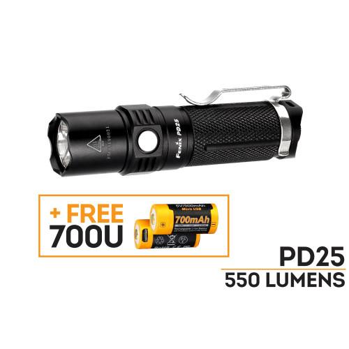 Fenix PD25 LED Flashlight