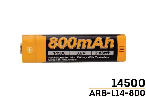 Fenix ARB-L14-800 14500 Battery