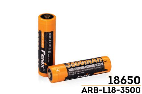Fenix ARBL18 High-Capacity 18650 Battery - 3500mAh