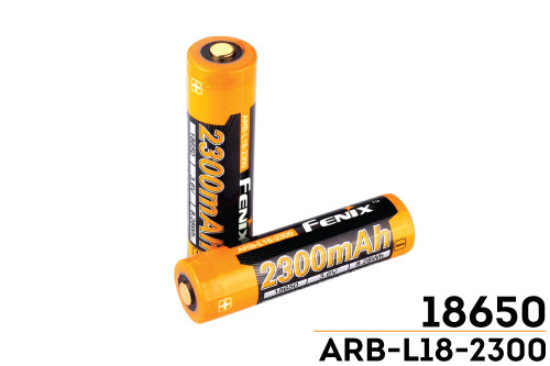 Fenix ARBL18 High-Capacity 18650 Battery - 2300mAh