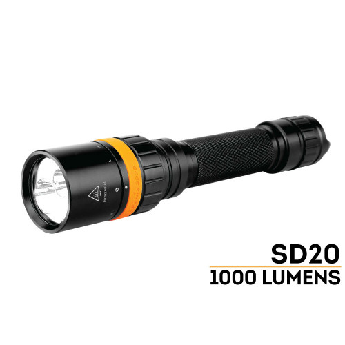 Fenix SD20 LED Dive Light
