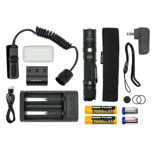 Fenix PD35TAC LED Flashlight TACTICAL Bundle