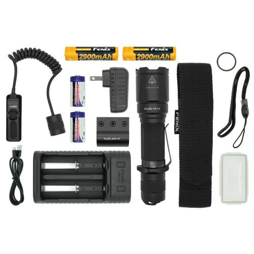 Fenix TK16 LED Flashlight TACTICAL Bundle