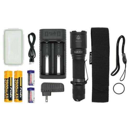 Fenix TK16 LED Flashlight Bundle