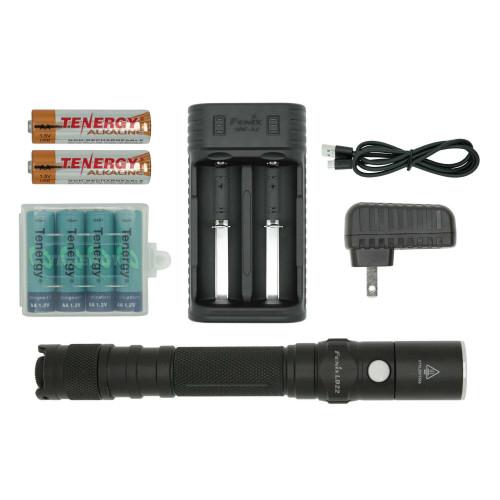 Fenix LD22 2015 LED Flashlight Bundle
