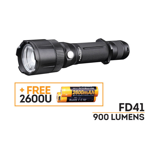 Fenix FD41 LED Flashlight 1