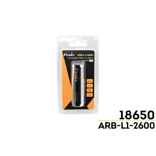 ARB-L1-2600 18650 Fenix Spare Battery