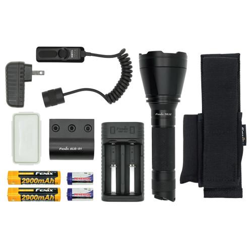 Fenix TK32 LED Flashlight HUNTING Bundle