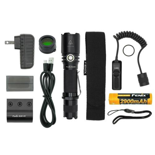 Fenix TK20R LED Flashlight TACTICAL Bundle