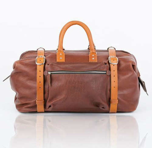 Holdfast Roamographer Bison Leather Duffle