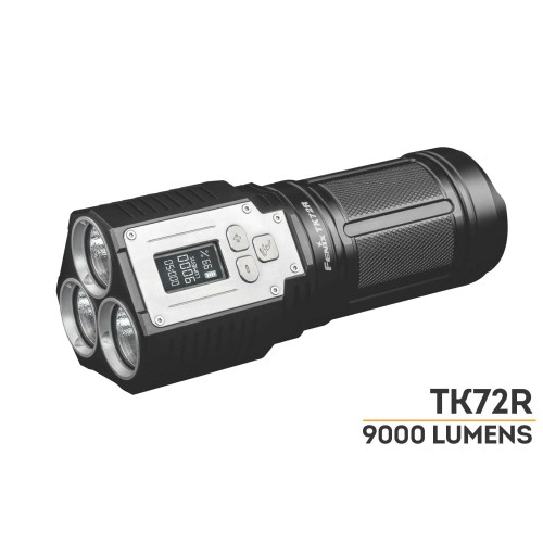 Fenix TK72R Rechargeable LED Flashlight -- 9000 Lumens