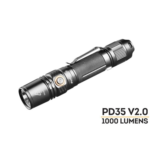 Fenix PD35 V2.0 LED Flashlight - 1000 Lumens