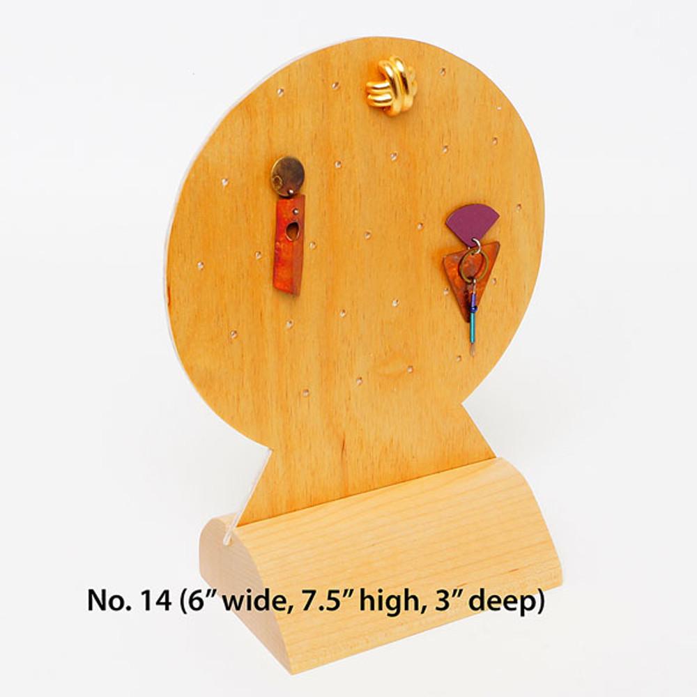 Tall earring holder
