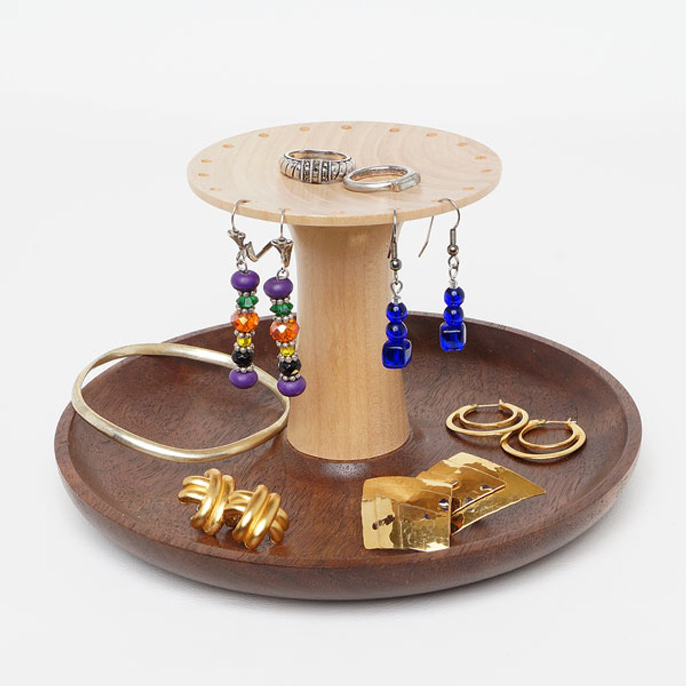 Jewelry Stand with Earring Holder