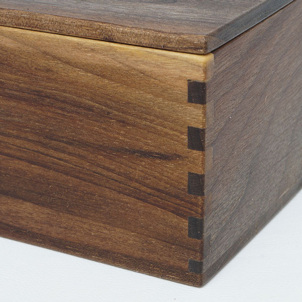 Oregon black walnut box for jewelry or keepsakes