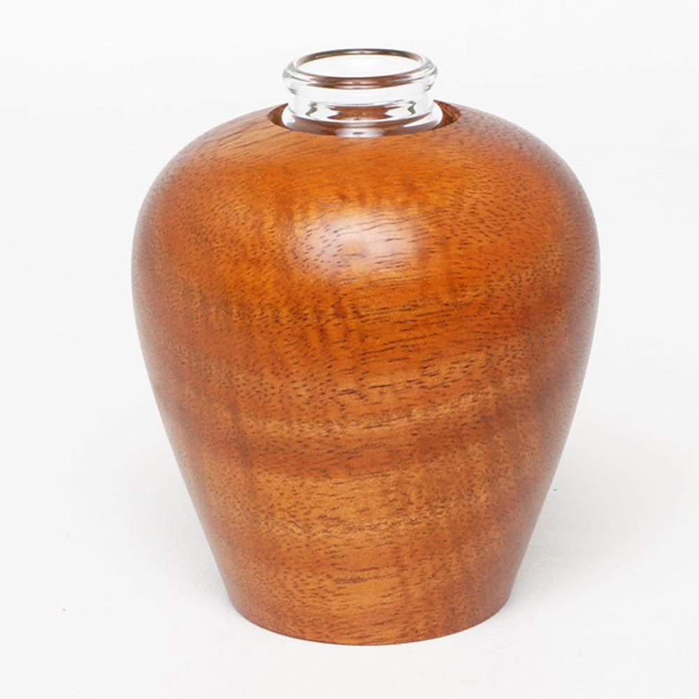 Aromatherapy reed diffuser in koa wood