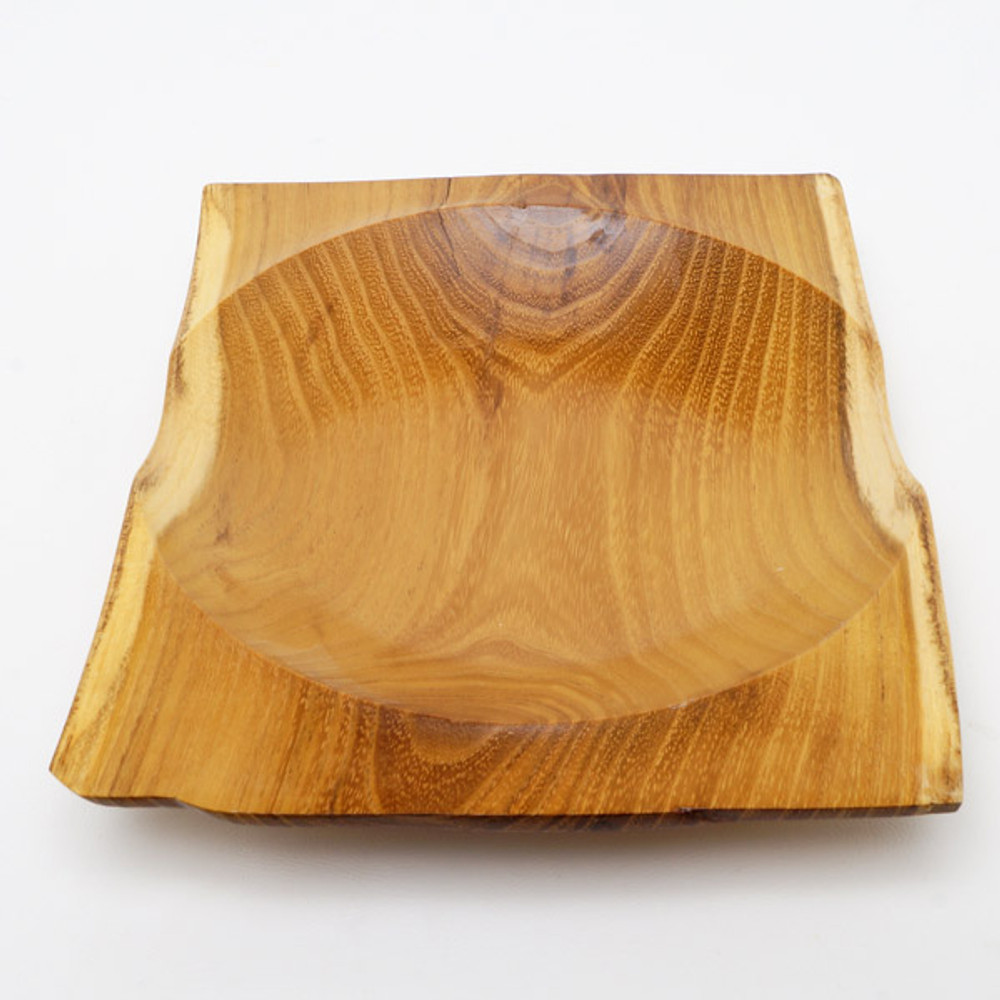 Locust wood serving platter