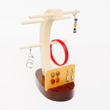 Wood Display Stand for Any Earring