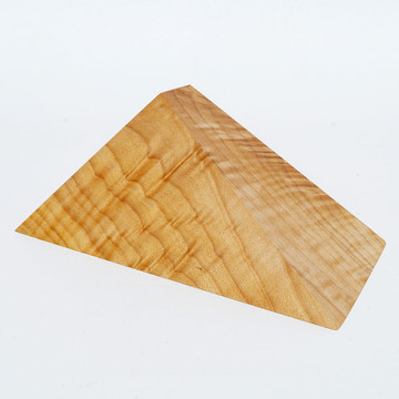 Maple wedge sculpture